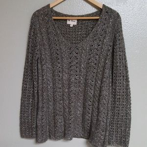 👢pewter Sweater